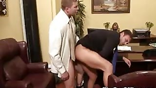 Rocco Reed Fucks The Office Boss