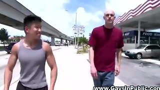 Gay Amateur Guys Outdoor Blowjob