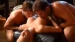 Group Sex With A Hot Blonde