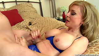 Nina Hartley Hand Job