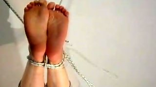 Feet Tickle Torture And Cum On Feet