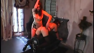 Hot Brunette Spanked And Tickled On A Spanking