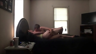 Nerdy Guy Gets His Dick Wet