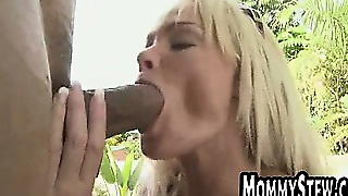 Big Tit Blonde Milf Fucked By A Big Cock
