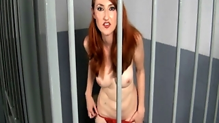 Red Head In Jail. Joi