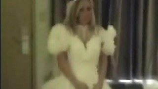 Busty Bride Throated And Fucked