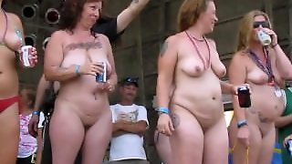 Every Boob Shape Imaginable Exposed In Public Awesome