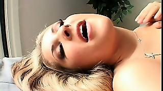 Chelsea Rae And A Monster Black Cock Go At It And She Gets A Mouthful