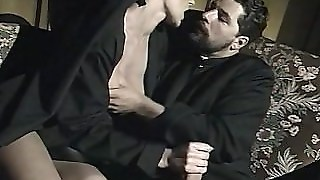 "Nuns And A Priest: Threesome Scene From ""il Confessionale"