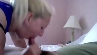 Amateur Mature Blonde Blowjob