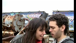 Junk Yard Mutual Masturbation