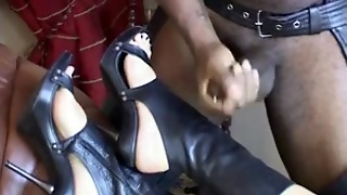 Foot Fetish Cum Compil Footjobs Shoes High Heels