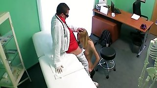 Blonde Babe In Fake Hospital