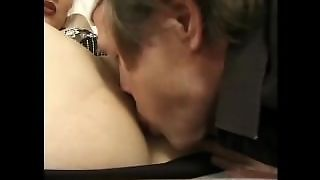 Old And Young Blond Teen