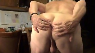 Playing With My Ass And Masturbating