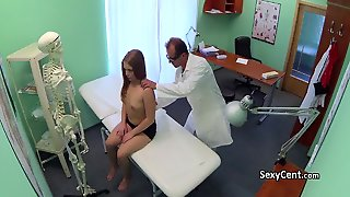 Doctor Cumming In Teen Mouth