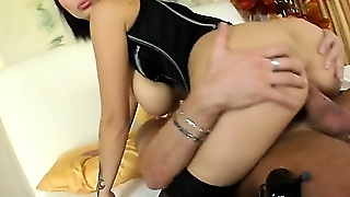 Big Tit Job And Cum Shot For Dominno