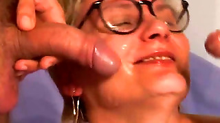 Threesomes, Blondies, Cumshot, Handjob, Naked, Double Penetration