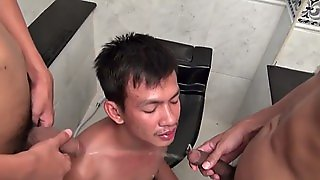 Gay Asian Twink Pissing