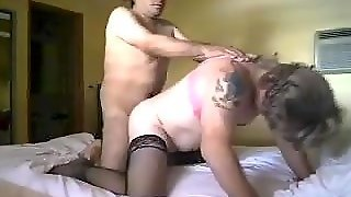 Crossdresser Fucked By A Horny Guy