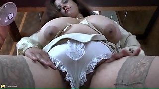 Stockings And Panties Are Sexy On Bbw
