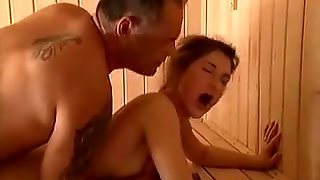 German Teens, German In Sauna, German Sauna, He's Hot, Young And Olds, Young For Old, Young To Old, Teens Vs Old