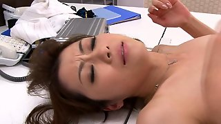 Stocking, Office, Naked, Asian, Relax, Lady, Hd
