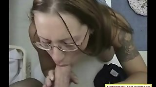 Filthy Girl Sucking Dick In The Laundry Room
