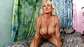 Woman Seduces Man In Bed