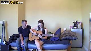 Brandy And Her Boyfriend Are Young Amateur Couple Having Sex