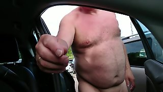 Naked On The Parking