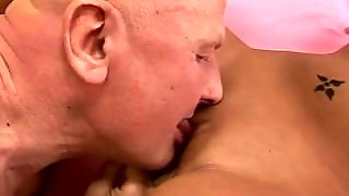 Small Tits Teen Fucked By Old Horny Guy
