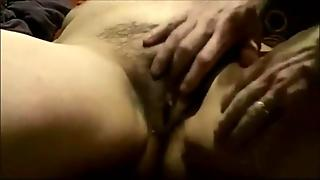 Fingering A Hairy Wet Pussy