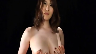 Momoka Nishina Palys With Boobs And Dildo