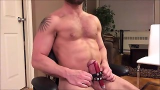 Strap This Vibrator To My Cock And Get These Daddy Balls Drained Asap