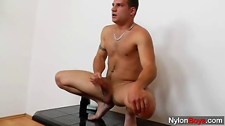 Queer Man Nylon Nylons Fetish