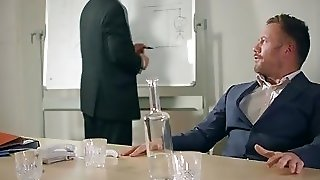 Mea Melone Fuck On The Boardroom Table