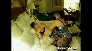 Chubby Ties Aunty To The Bed
