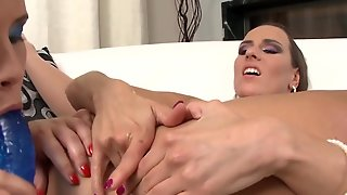 Brunette Mea Melone Taking Worm Up The Ass