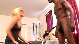 Blonde Loves Bbc Interracial Anal