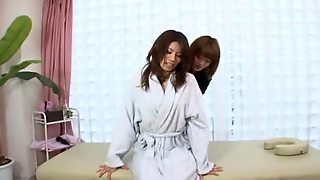 Hot Japanese Lesbian Massage