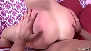 Cutie With A Big Ass Rides A Guy Twice Her Age