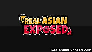 Realasianexposed  Kya Tropics Holes Are Too Tight For Huge B