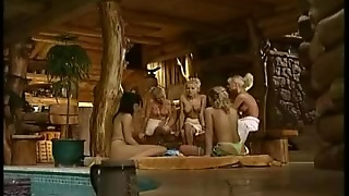 Orgy At The Sauna