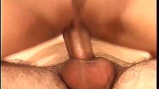 Hot Married Latina Sucks Young Guys Hard Cock While Her Husband Looks On