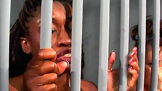 Interracial Lesbian Action In Jail