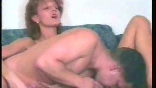 Skinny Mature Retro Whore Gives A Lesson Of Fucking