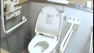 Real Girls In Bikinis Come To This Public Toilet To Piss