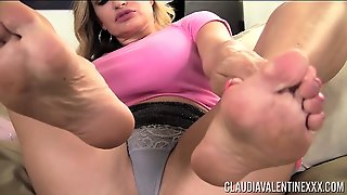 Claudia Valentine Foot Fetish Private