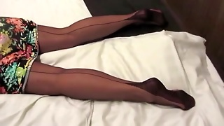 Foot, Fetish, Foot Stockings, Pov Stockings, Stockings Fetish, Sexually, Excited, Foot Fetish I